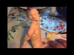 Blushing & Shading with genesis paints - YouTube