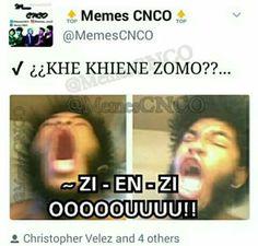 Aquí encontrarás alguno que otro meme de CNCO Espero les agrade! … #detodo # De Todo # amreading # books # wattpad
