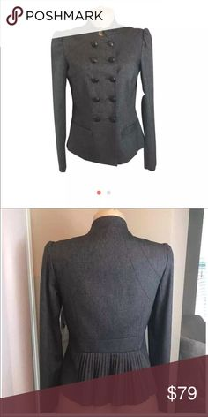 Grey Button Down Blazer By Mint Brand new blazer by Mint. Very elegant and classy. Never worn and tags attached. Mint Jackets & Coats Blazers