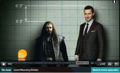 This was the tee up for Richard Armitage's upcoming appearance on Good Morning Britain. Oh….God… I had such high hopes…