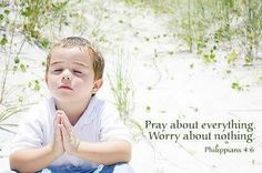 Don't worry about anything; on the contrary, make your requests known to God by prayer and petition, with thanksgiving. Then God's shalom, passing all understanding, will keep your hearts and minds safe in union with the Messiah Yeshua. -- Philippians 4:6-7