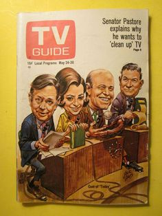 The history of television at your fingertips with the TV Guide Magazine Cover Archive - Covers from 1953 to today - including TV's biggest shows and stars like Lucy and John Wayne Great Tv Shows, Old Tv Shows, Today Show Cast, 1960s Tv Shows, Jack Davis, Ec Comics, Barbara Walters, Books For Teens, Vintage Tv