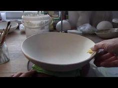 "Modellieren in Ton ""Große Salatschüssel"" - YouTube"