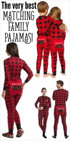 Family Christmas Pajamas in Lots of Styles! Shop for the cutest matching  family Christmas pajamas with ... 786c518e1