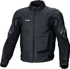 Macna Reactor Leather Motorcycle Jacket