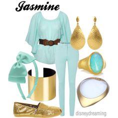 """Jasmine"" by em-ily-ann on Polyvore"