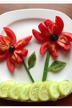 Food art for kids vegetables ideas for 2019 Kreative Snacks, Food Art For Kids, Food For Children, Healthy Children, Creative Food Art, Creative Ideas, Salad Dishes, Food Carving, Food Decoration