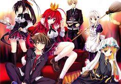 Nueva OVA para High School DxD el 9 de Diciembre.