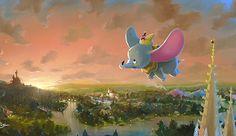New Disney Fine Art Debuts at Disney World Resort