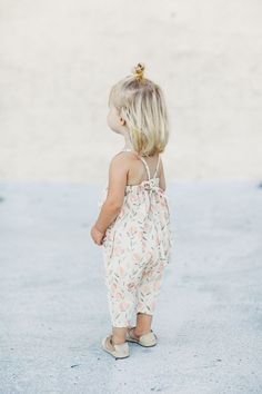 Romper and the half up...aww!