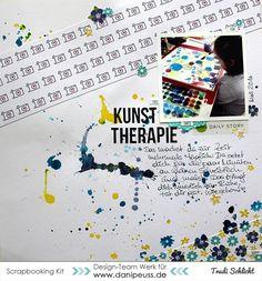 Layout mit dem #dpJulikit16 von Trudi für www.danipeuss.de