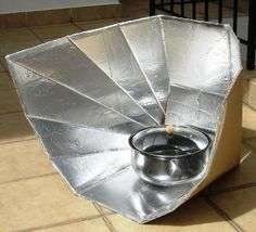 Love this!!  Fun-panel solar cooker. These work great!