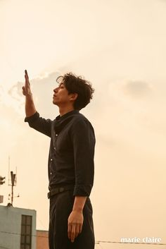 More Of Gong Yoo Sharing The Quiet Of Jeju Island In April's Marie Claire   Couch Kimchi