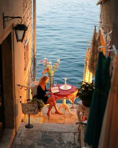 Romantic view in Rovinj, Istria, #Croatia Photo by: Bartłomiej Jurecki
