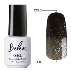 Belen Chameleon Thermal Colour Changing Gel Polish Soak Off Nail Art Manicure 9043 ** Continue to the product at the image link. (Note:Amazon affiliate link)