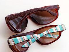 DIY sunglasses - customize them two ways! - Mod Podge Rocks