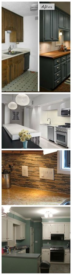 10 Cheap Renovation Ideas For Your Kitchen Short in cash? Need a little sprucing up in your kitchen? Here are 10 great DIY things you can do to improve the looks of your kitchen. Relatively cheap ideas that will change the whole look of your kitchen with little money!