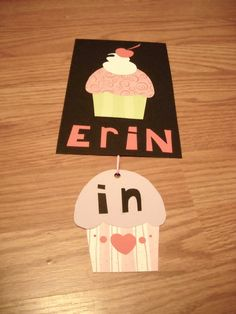 Door decorations are always fun to make! This way you can let friends know if you're in your room or not.