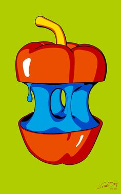 Sweet Pepper Augarten Wien, Dog Pop Art, Stuffed Sweet Peppers, Disney Characters, Fictional Characters, Green, Fantasy Characters, Stuffed Peppers, Disney Face Characters