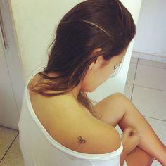 Cute Small Bow Tattoo