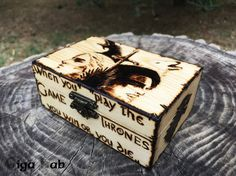 Game of Thrones Box di GigaLabWoodCreations su Etsy