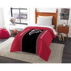NFL Twin Comforter Falcons - Multicolor (Twin)