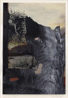 Gerhard Richter - 22.2.91 (Sils Maria) 1991 14.7 cm x 10 cm Oil on colour photograph
