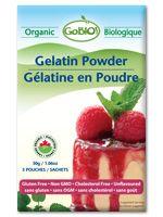 Organic Gelatin Powder, 30g/1.06oz