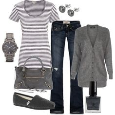 """Casual"" by honeybee20 on Polyvore"