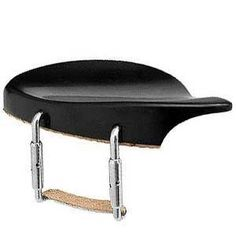 Dresden 44 Violin Chinrest  Ebony with Standard Bracket * Click image for more details.Note:It is affiliate link to Amazon.