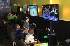 Gaming Parties provide us a quality time to have fun with friends Video Game Trivia, Gaming Lounge, Quality Time, Party Games, Party Planning, Have Fun, Happy Birthday, Birthday Parties, Entertaining