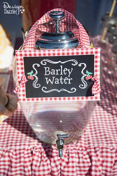 """""""..and never smell of Barley Water...."""""""