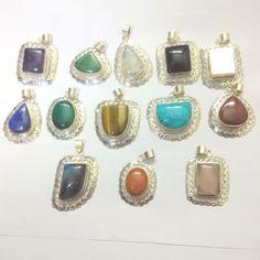 925 Solid Sterling Silver Labradorite Gemstone Jewelry Pendants Designer Net V-8 #DesignerNet #Pendant
