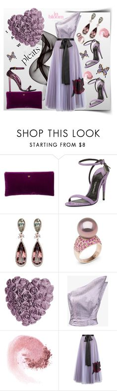 """""""Lilacs in bloom"""" by ellenfischerbeauty ❤ liked on Polyvore featuring Tom Ford, Anabela Chan, Vika Gazinskaya, NARS Cosmetics and Christopher Kane"""