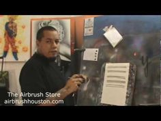 How to Airbrush for Beginners Lesson #2