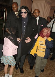 Always in their hearts: Michael Jackson passed in June 2009 at the age of 50,leaving behind his three young children who are now in the care of their grandmother, Katherine Jackson, and uncle TJ Jackson