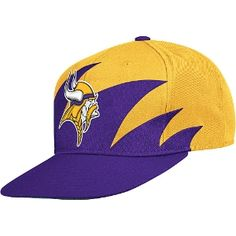 Mitchell   Ness Minnesota Vikings Sharktooth Snapback Hat 088dadb07