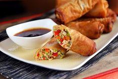 Kamu kínai csirkés tekercs Taco Pizza, Fresh Rolls, Food And Drink, Cooking, Breakfast, Ethnic Recipes, Kitchen, Morning Coffee, Brewing
