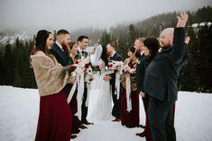 Sasquatch Mountain Winter Wedding / Laura Olson Photography / Sunshine Coast & Vancouver BC Photographer www.lauraolsonphoto.com