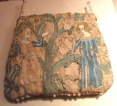 French purse from the mid 14th Century