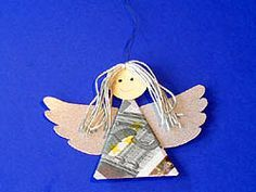 Handicraft instructions for a money angel Source by