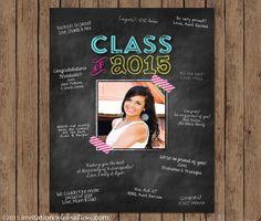 Graduation Guest Book Frame  Chalkboard    Signature Mat #chalkboard #graduation #openhouse