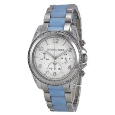 Michael Kors Women's MK6137 Blair Chronograph Crystal Stainless Steel Watch #MichaelKors #Fashion