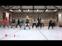 'Trumpet Lights' Chris Brown choreography by Jasmine Meakin (Mega Jam)