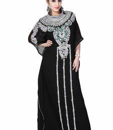 Buy black kaftan islamic dress  Reaymade Abaya online