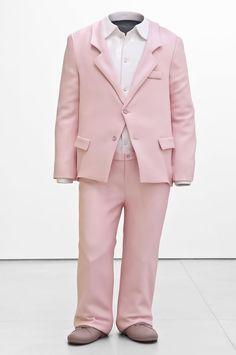 ERWIN WURM  Big Suit, 2010  aluminum, paint  118.11 x 51.18 x 28.74 inches  300 x 130 x 73 cm