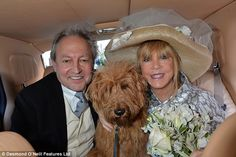 Pattie Boyd has tied the knot for the third time, this time with Rod Weston at Chelsea Registry Office, Chelsea Old Town Hall, in London