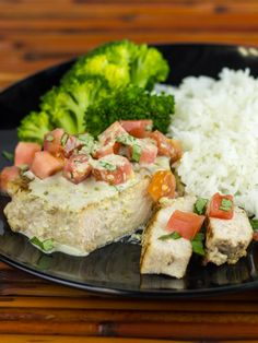 Sous Vide Thai Pork Chops with Green Curry Sauce