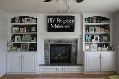 Electrical for built-ins and fireplace insert - Home Improvement ...