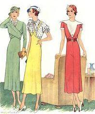 30er Jahre 30er Mode 30er Jahre Kleider Und Kleider